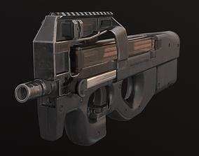 P90 PDW Submachine gun 3D model