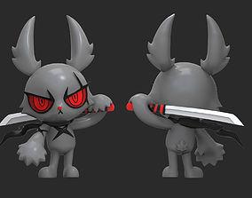 3D print model Dark Rabbit Bloody Bunny