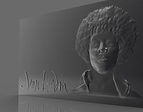 Jimi Hendrix 3D printable model