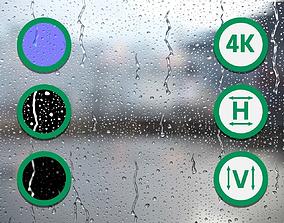 Raindrops Texture 3 3D
