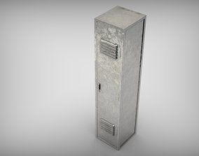METAL LOCKER 3D model realtime