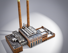 Spokane Steam Plant 3D model