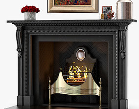 Chesneys The Locke Fireplace 3D