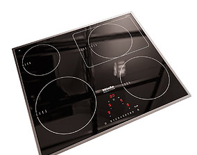 Cooking Electric Panel Miele KM6317 3D