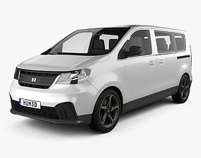 Generic Passenger Van 2019 3D