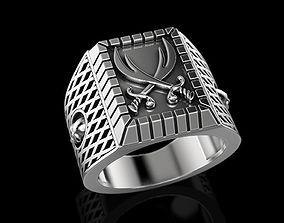 Man ring man 3D print model