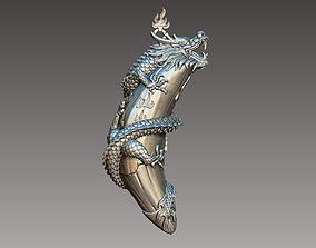 dragon pendant 3D print model zbrush