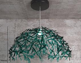 CMYK Cutlery Lamp 3D