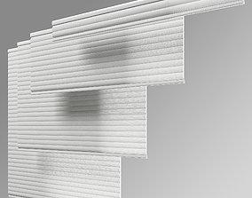 3D model Hunter Douglas Sonnette Modern Roman Shades