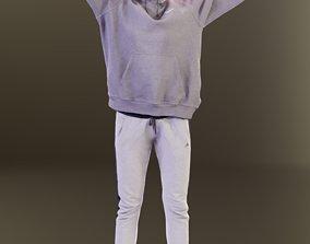 3D model Myriam 10018 - Stretching Sport Girl