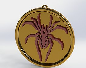 3D print model Spider Medallion