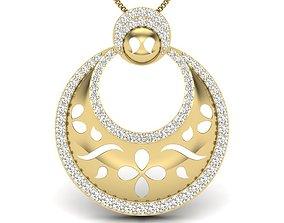 3D printable model Diamond Pendant For Ladies ladies