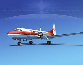 3D Convair CV-580 Frontier 2