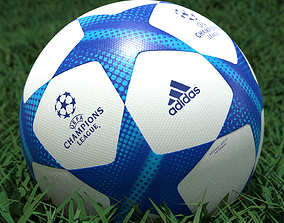 Adidas UEFA Champions League Soccer Ball 3D model