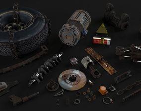 3D model Old details