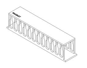 3D model ORGANIZADOR
