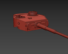 Panzerkampfwagen VI Henschel Turret 3D