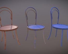 3D asset Chair PBR GameReady