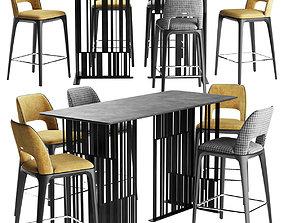 Play Furman Chair Bar Solo Table 3D model