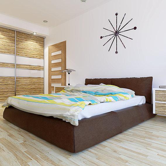 Bedroom 2 (Blender + VRay)