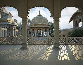 Architecture in India 3D asset