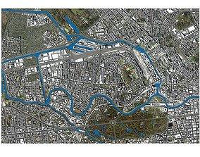 3D Cityscape Berlin Germany