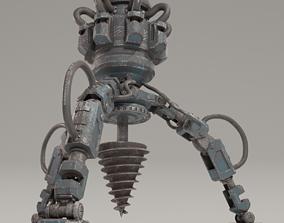 Ground Drill 3D asset