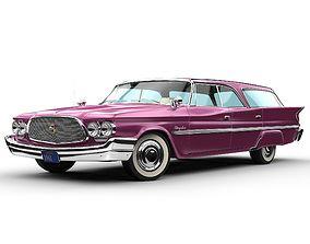 3D model Chrysler Windsor Wagon 1960