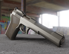 3D Gun Inspired in Automag-58