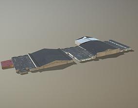 3D asset Airport Hangars SKBO Hangars10