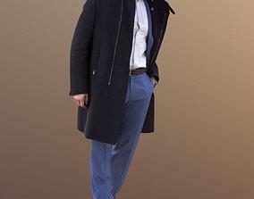 Andrew 10596 - Walking Business Man 3D model