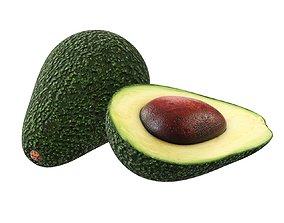 Avocado 3D model PBR