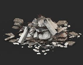 Ruin Debris Rubble 02 3D model