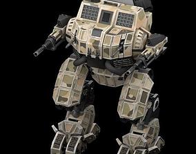 3D Battle mech Awakened