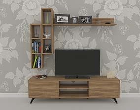 Tv Stand living 3D model