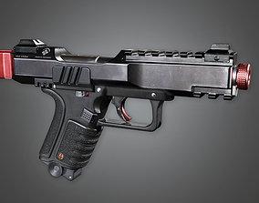 FPS Modern Handgun - MHG - Dorn MK2 - PBR Game 3D model