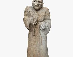 3D model Wanderer Stone Sculpture
