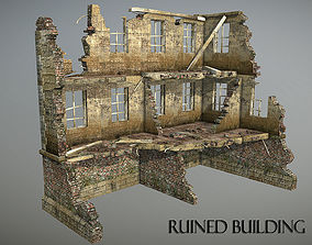 Ruined Building 1 3D model