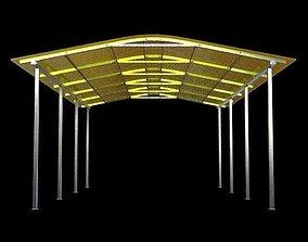3D model Parking Shelter