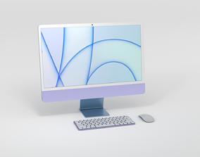2021 M1 iMac 3d model