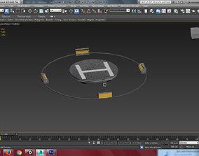 3D model Helipad FREE