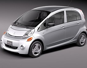 Mitsubishi i-MiEV 2012 3D Model