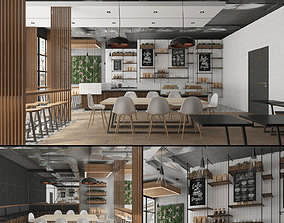 Coffee House Cafe 3D