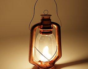 vintage Lantern 3D