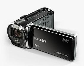 3D asset JVC GZ-GX1 camcorder