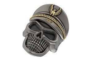 3D printable model N221 Skull ring