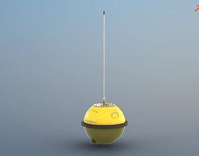 Wave Measurement Buoy - PBR 3D asset