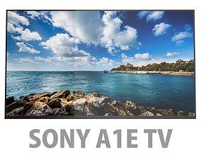 3D model Sony TV A1E OLED 4K