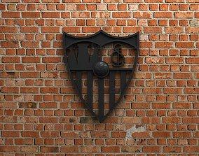 Sevilla FC Logo 3D model