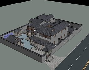 modular 3D Chinese Style Architecture